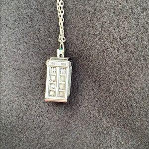 Jewelry - Police Box Necklace NWT